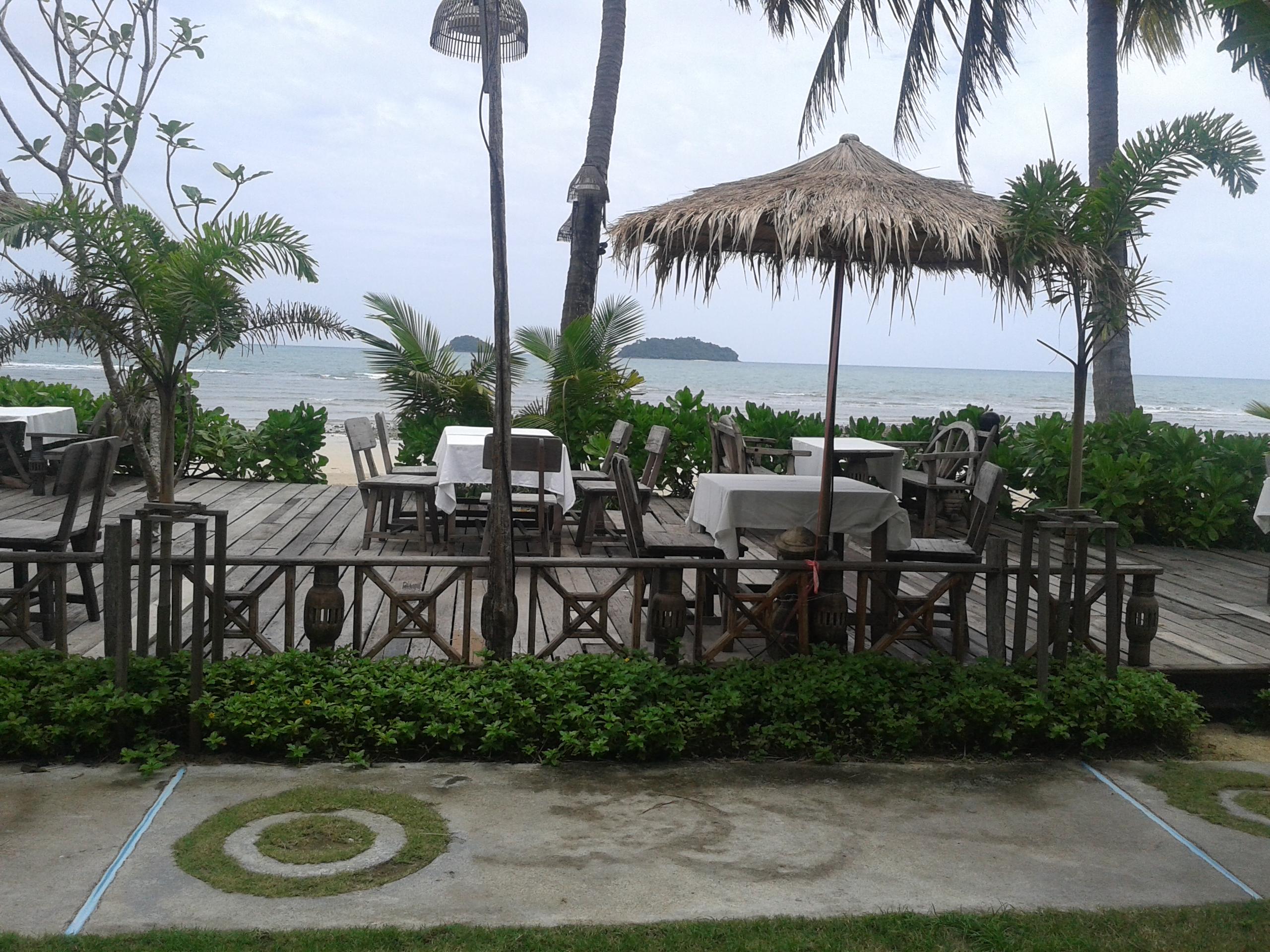 uitzicht, strand, ko chang, KB resort,