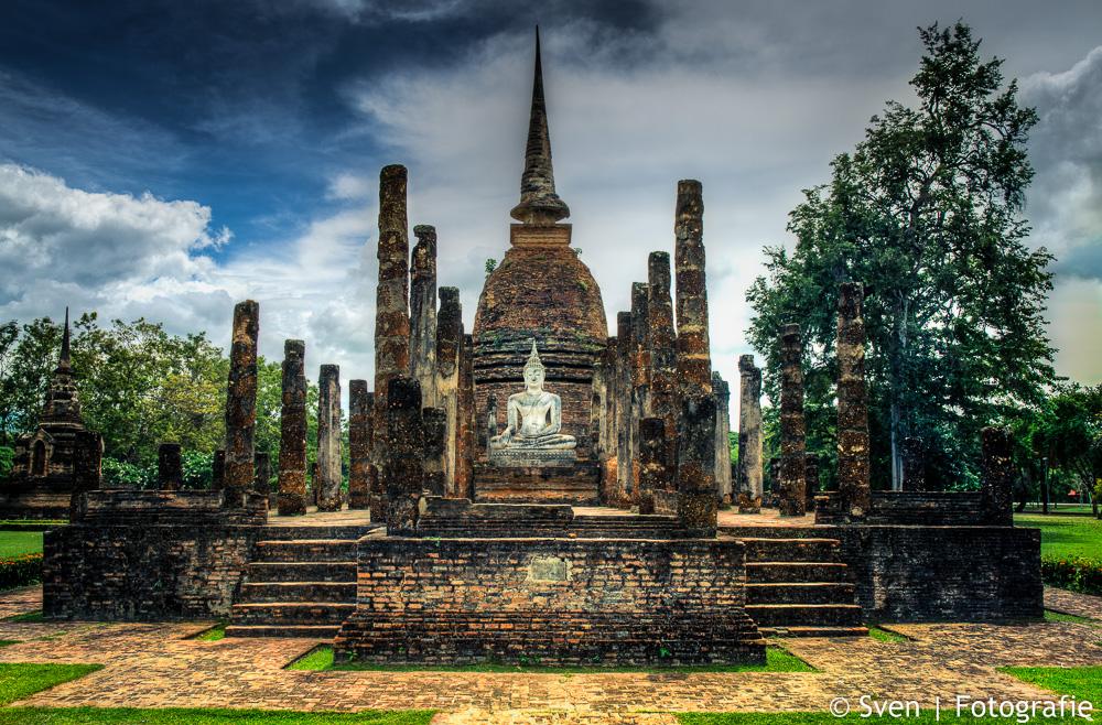 sven, fida, reizen, travel, boedha, Sukhothai, Thailand, tempel