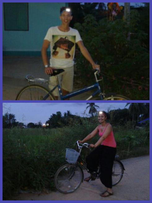 fietsen, sukhothai, sven, fida, thailand