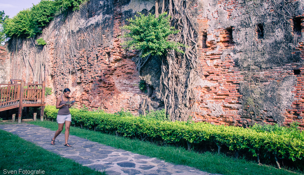 2014, Anping, Asia, Azië, Fida, fort, muur, reizen, Sven, svenfida.nl, svenfotografie.nl, Tainan, Taiwan, travel, wall, Zeelandia
